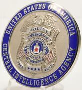 Cia Central Intelligence Agency Security Protective Service Police 30th Ann Coin