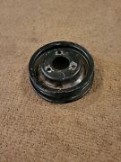 1968 1969 390 428 Mustang Cougar 68-70 3 Groove Crank Pulley C8ae-6312-b A/c 2v