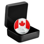 🇨🇦 This Is Canada 5 Five Dollars Fine Silver Coin, Encapsulated, Boxed, 2019