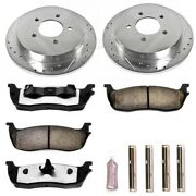 K1913-36 Powerstop New 2-wheel Set Rear For F150 Truck Ford F-150 Expedition