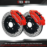 Wilwood And Slotted Rotor Forged Narrow Superlite Caliper F Brake For 00 S2000