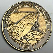 C6599  North American Fishing Club  Bronze  Medal, Trout