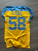 Trent Cole Game Issued Used Worn Jersey Philadelphia Eagles Throwback