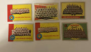 Lot Of 1960s Tops Baseball Team Cards- Phillies- Dodgers-giants-braves