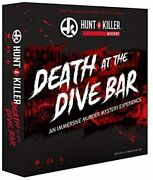 Hunt A Killer Death At The Dive Bar Immersive Murder Mystery Game -take On The U