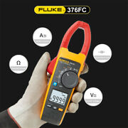 Fluke 376 Fc True Rms Fc Clamp Meter W/ Measures Iflex 2500a Ac For Industrial