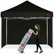 Mastercanopy Durable Pop-up Canopy Tent 8x8 Heavy Duty Instant Canopy With Sidew