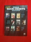 2006 Rock Charts Guitar Tab The Hits So Far Sc Book Disturbed, Seether, Staind