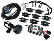 Msd Dis Kit Black Small Block For Ford 289-302 Programmable 2d 3d Timing Maps