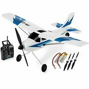 Top Race Rc Plane 3 Channel Remote Control Airplane Ready To Fly Rc Planes Fo...