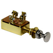 Cole Hersee Push Pull Switch Spst On-on-off 3 Screw M-531-bp
