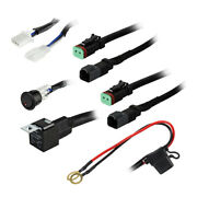 Heise 2-lamp Wiring Harness And Switch Kit He-dlwh1