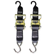 Rod Saver Heavy-duty Ratchet Trailer Tie-down - 2 X 3and039 - Pair R2ttd3