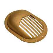 Groco Bronze Slotted Hull Strainer With Mount Ring Sc-1500