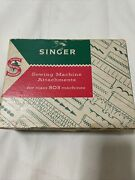 Vintage Singer Sewing Machine 503 Attachments With Instruction Manuals