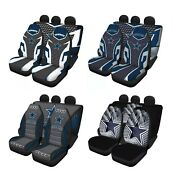 Dallas Cowboys Universal Auto Seat Covers For Car 5 Seater Front Rear Protector