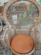 Stunning Vintage Rattan Peacock Chairs 2 Bought In Indonesia