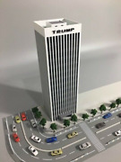 1/150 N Scale Building Station Model Train Sand Table Scene Decoration