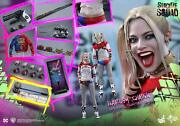 Dhl 1/6 Hot Toys Mms383b Suicide Squad Harley Quinn Special Edition Figure