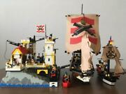 Lego Vintage Castle 6277 Imperial Trading Post And Sea Lion 6271 Collection Set