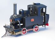 Aster Model Live Steam Locomotive Old Faithful With New Burner And Extra Tank Cars