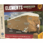 Elements Premium All-climate Tyvek Rv Cover, Class A, 37'.1' - 40'