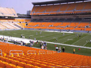 2 Tickets Baltimore Ravens @ Pittsburgh Steelers 12/5 Sec 138 Row R Aisle
