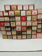 Lot Of 53 Vintage Antique Player Piano Word Rolls Various Title See List