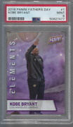 2016 Panini Father's Day Elements 1 Kobe Bryant Psa 9 Mint Pop 1 One Higher