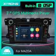 7 Car Stereo Radio Android 10 Dvd Player Gps 2+32gb Head Unit For Mazda Cx-7
