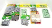 Pretend Play Toy Educational Math Money Bills And Coins New Sealed Lot Of 9