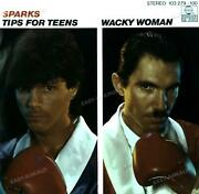 Sparks - Tips For Teens / Wacky Woman 7in 1981 Vg+/vg+ And039