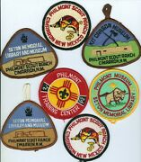 Lot Of 7 Older Boy Scout Philmont Scout Ranch Patches