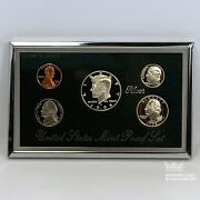 1998-s Premier Silver Proof Set - With Box And Coa 0.85 Face 900 Silver W2c