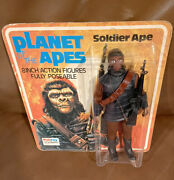 Mego Palitoy Planet Of The Apes Soldier Ape C. 1967 - Mint On Card -unpunched