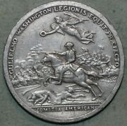 Vintage Coin Medal Comitia Americana Reproduction George Washington91andcent Shipping