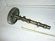 Vw Beetle 1600cc Dual Port Engine Camshaft With Gear Edge Rounded 1965-73 Used