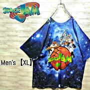 A51 Space Jam T-shirt Menand039s Xl Total Pattern Short Sleeve Xlll