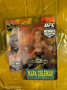 Round 5 Mark Coleman Ufc Ultimate Collector Limited Edition 10 Mint Auto /750
