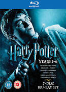 Harry Potter Years 1-6 Blu-ray Disc, 2009, 7-disc Set