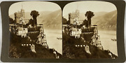 White, Stéréo, Germany, Rheinstein, The Most Famous Castle On The Rhin Vintage S