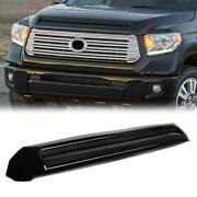For 14-21 Toyota Tundra 202 Front Upper Grille Hood Bulge Molding Platinum Style