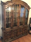 Drexel Heritage Dining Room Set With Matching Buffet Table Vintage