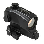 Vism Battery + Solar Red Dot Sight W/ Picatinny Mount Fits Ruger Mossberg Rifle