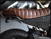 Extra Slim Seat Classic Vintage For All Ducati Scramblers Designs.