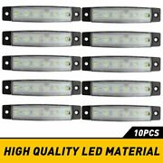 10x Led Rock Lights Offroad Atv Truck Underbody Wheel Well Light White For Jeep