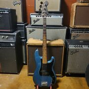 Fender Precision Bass Made In Japan Survived A Fire