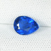 0.89 Ct Collectorand039s Gem Neon Blue Natural Afghanite - Pear Cut - See Vdo 8956