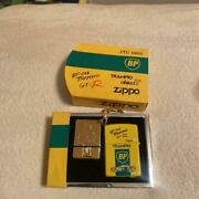 Zippo Gt-r Jtc 1993 Bp Oil Yellow Keychain Unused Item Imported From Japan