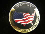 Tsa Transportation Security Administration Security Operations Challenge Coin